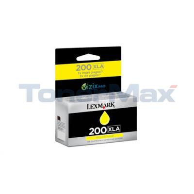 LEXMARK NO 200XLA RP INK CARTRIDGE YELLOW HY